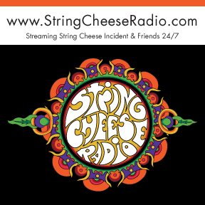 String Cheese Radio Sticker 2
