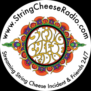 String Cheese Radio Sticker 1